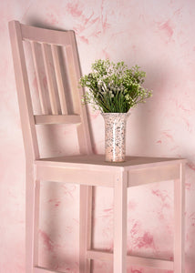 Cirrus Blush Large Vinyl Photography Backdrop by Club Backdrops [90 x 120cm / ~3 x 4ft]