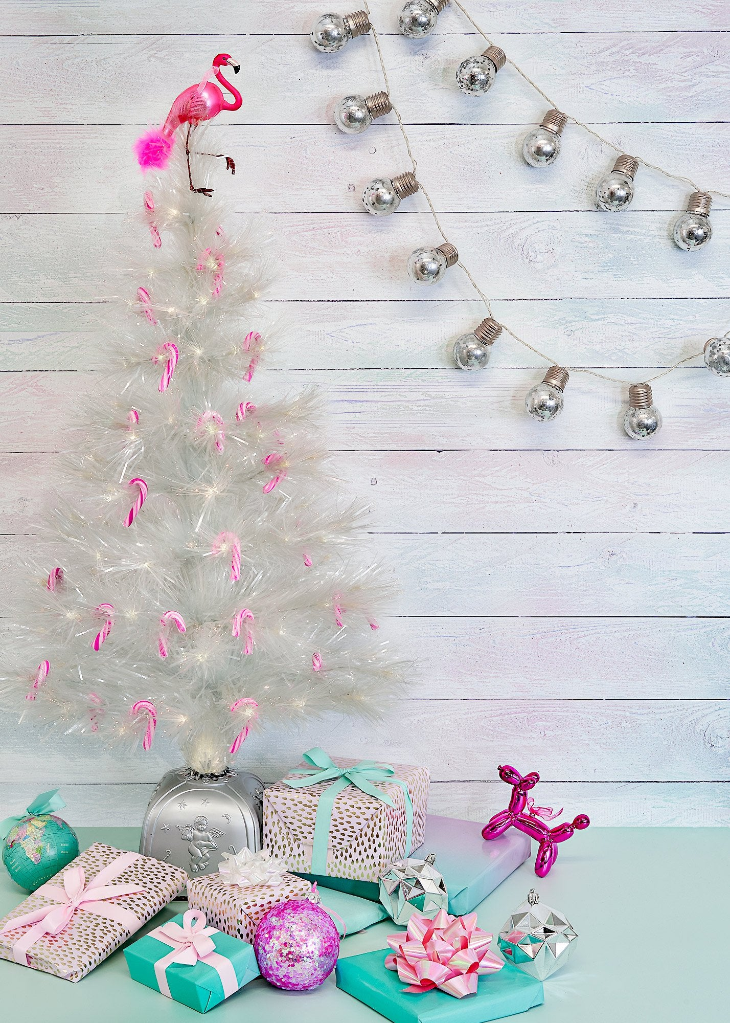 Unicorn Wood Large Vinyl Photography Backdrop by Club Backdrops [90 x 120cm / ~3 x 4ft]