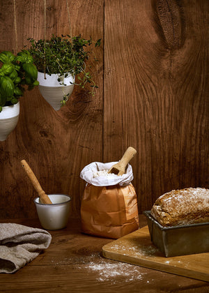 Warm Oak Vinyl Photography Backdrop by Club Backdrops