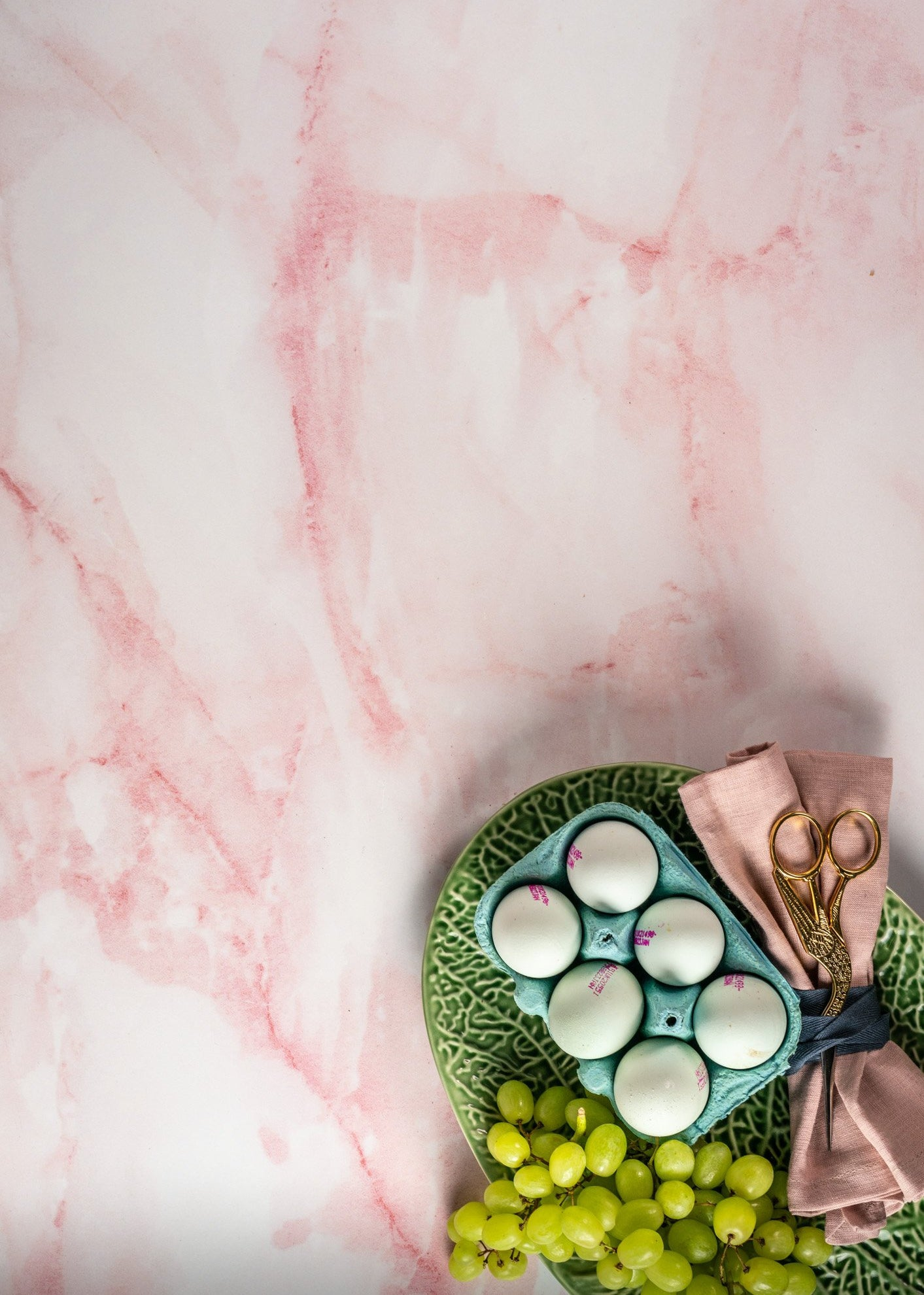 Pink Marble Vinyl Backdrop by Photography Backdrop Club