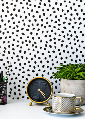 Dotty Vinyl Backdrop by Photography Backdrop Club