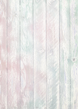 Unicorn Wood Vinyl Photography Backdrop by Club Backdrops