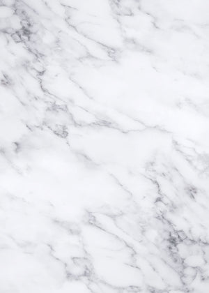White Marble Vinyl Photography Backdrop by Club Backdrops