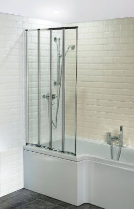 4 Fold Bath Screen