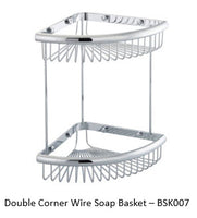 Chrome Shower Caddies Collection