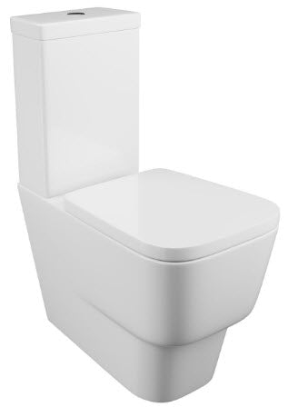 Dearne Close Coupled Pan & Cistern & Seat
