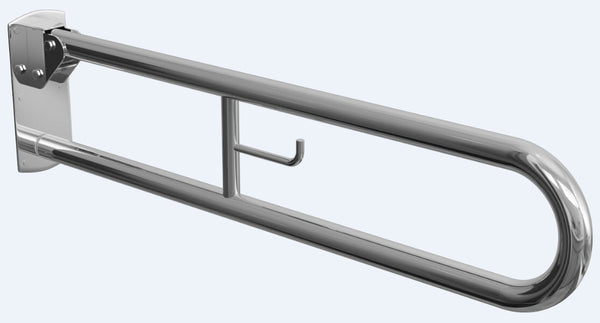 Chrome Hinged Grab Rail