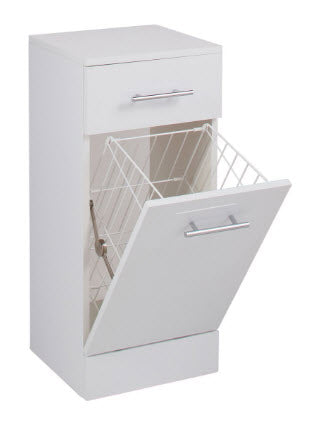 Kass Laundry Basket with Drawer
