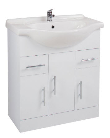 Kass 750mm Unit with Basin