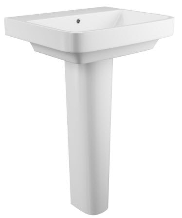 Rivelin Single Tap Basin & Pedestal