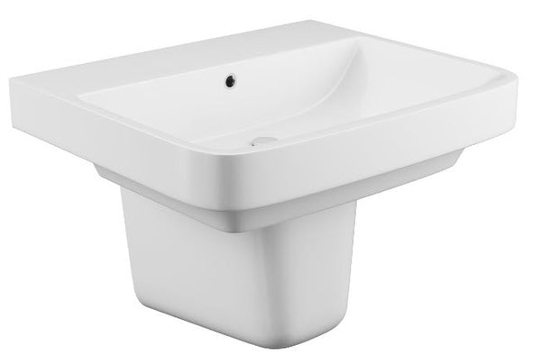 Rivelin Single Tap Basin & Semi Pedestal