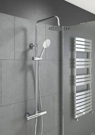 Videira Round Style Themostatic Shower Kit