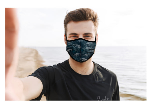 SEA TURTLES FACE MASK WITH FILTER