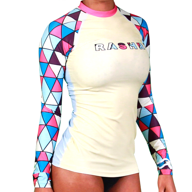 Poly Womens Long Sleeve Rash Vest