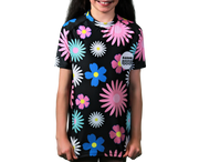 Fade Girls Short Sleeve Rash Vest