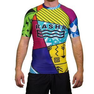 Hectic 2 Mens Short Sleeve Rash Vest