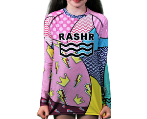 Hectic 2 Girls Long Sleeve Rash Vest