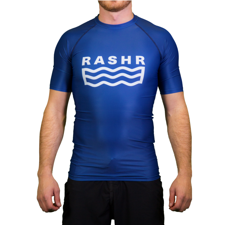 F-Bay Mens Short Sleeve Rash Vest