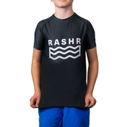 Wild 1 Boys Short Sleeve Rash Vest