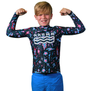 Altair Boys Long Sleeve Rash Vest