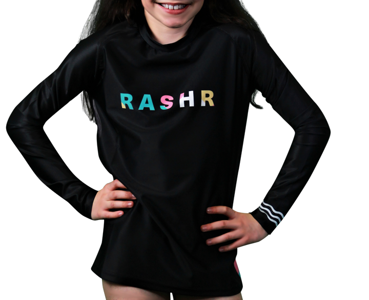 b19b9604d Ripple Girls Long Sleeve Rash Vest
