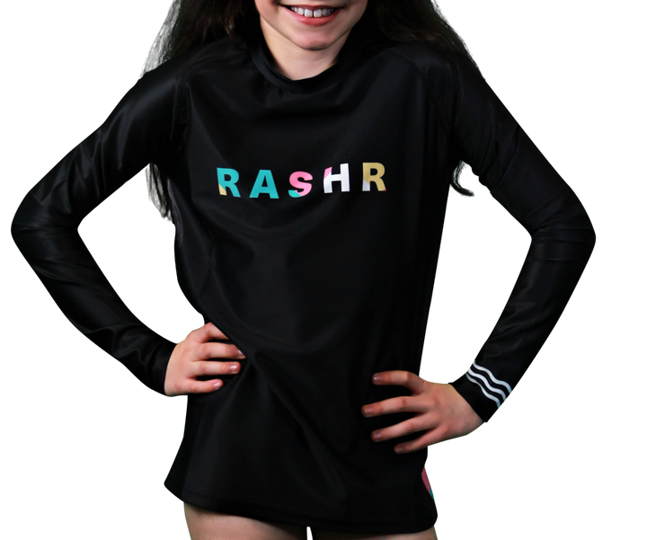 Ripple Girls Long Sleeve Rash Vest