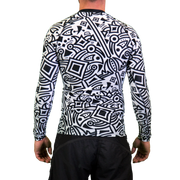 M-anic Mens Long Sleeve Rash Vest