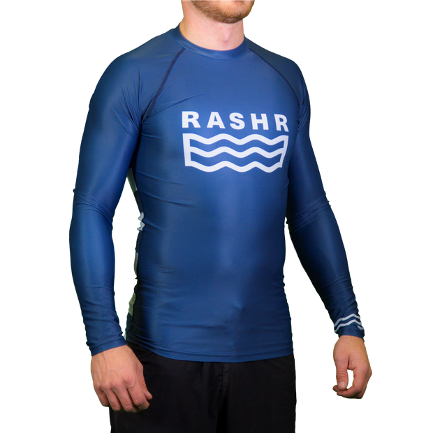 F-Bay Mens Long Sleeve Rash Vest