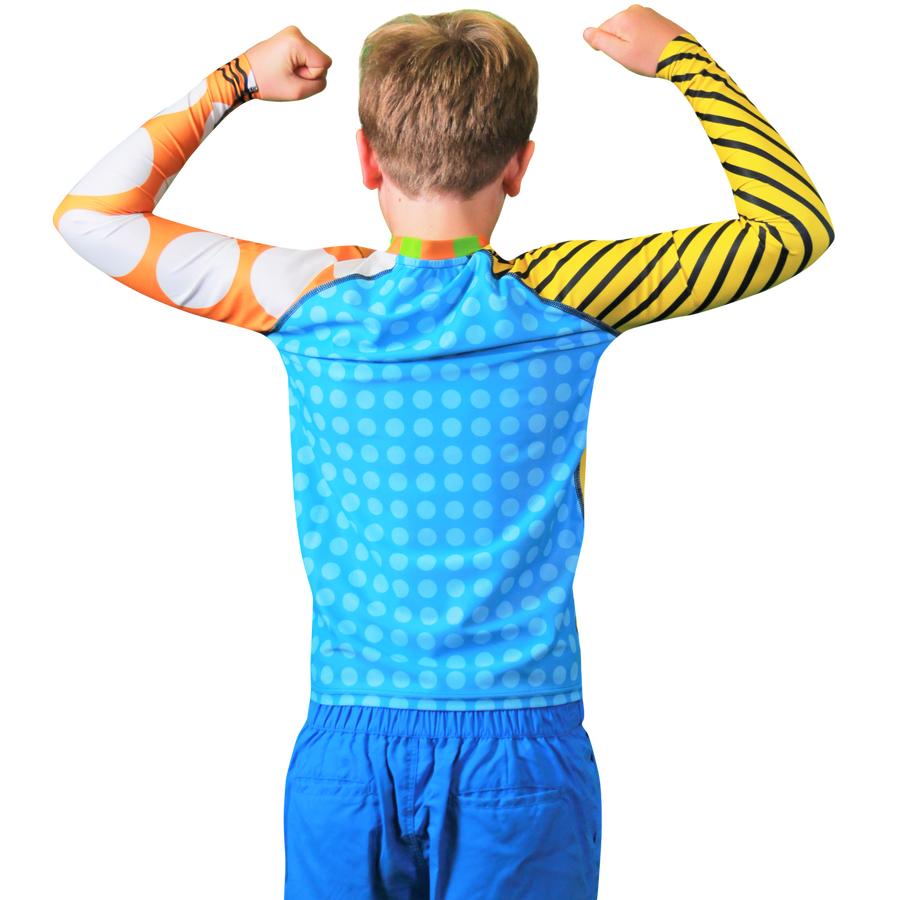 Bolt Boys Long Sleeve Rash Vest
