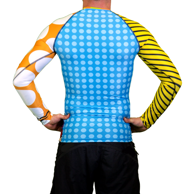 Tropical Floater Mens Long Sleeve Rash Vest