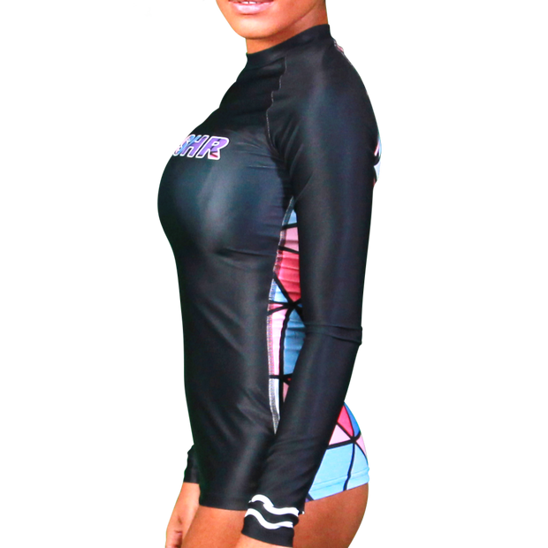Perplex Womens Long Sleeve Rash Vest