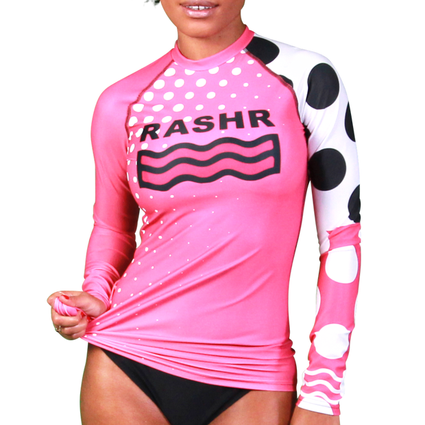 Contour Womens Long Sleeve Rash Vest