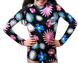 4d259bb78 Fade Girls Long Sleeve Rash Vest