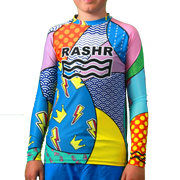 Hectic 2 Boys Long Sleeve Rash Vest