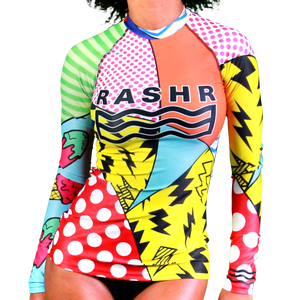Hectic 1 Womens Long Sleeve Rash Vest