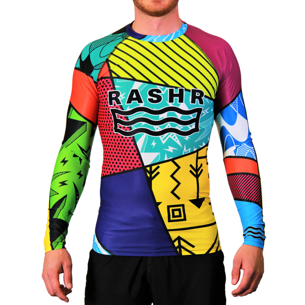 Hectic 2 Mens Long Sleeve Rash Vest