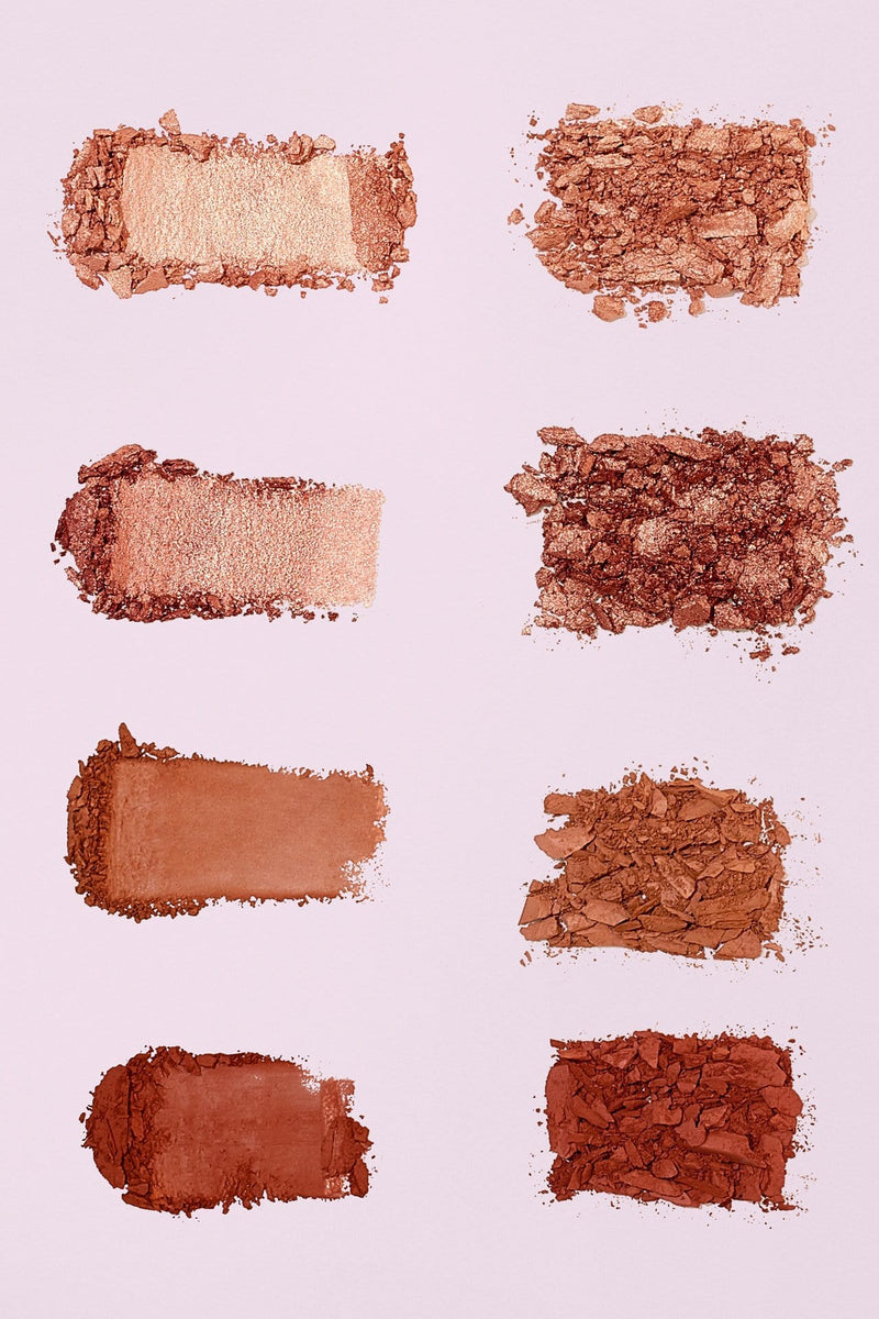 The Glow Up Palette—Warm