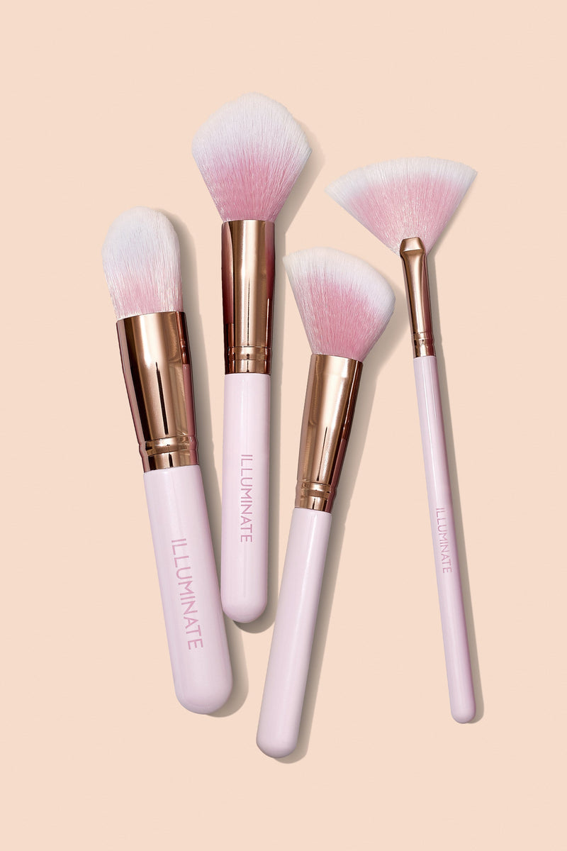 Pretty In Pink Brush Set