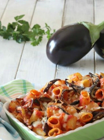 Eggplant with veal