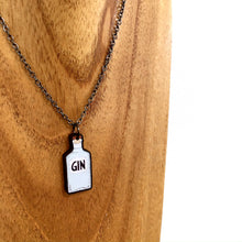 Load image into Gallery viewer, Gin bottle necklace - Gin lover gift