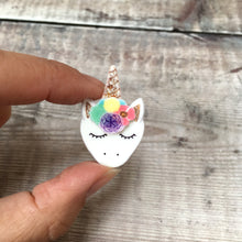 Load image into Gallery viewer, Unicorn pin badge - Cute pin - Teen gift for her