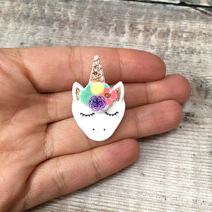 Unicorn pin badge - Cute pin - Teen gift for her