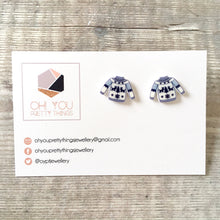 Load image into Gallery viewer, Christmas jumper novelty stud earrings - Christmas party jewellery