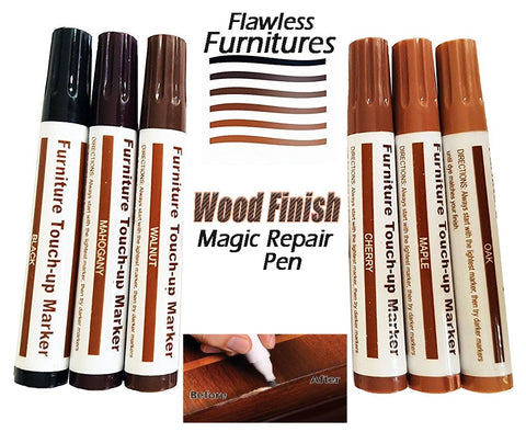 Wood Finish Magic Repair Pen Flawlessly Touches Up And Conceals Surface  Defects On Furniture, Cabinets, Moldings, Doors, Floors, Paneling, And Any  Finished ...