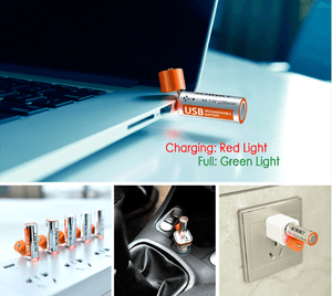Rechargeable USB Batteries