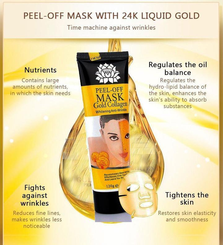 24K Gold Anti-aging Peel Off Mask