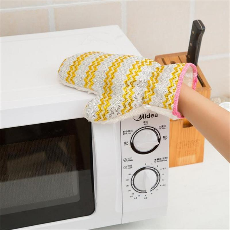 Microfiber 3-in-1 Cleaning Gloves
