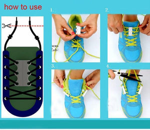 No-Tie Magnetic Shoelaces
