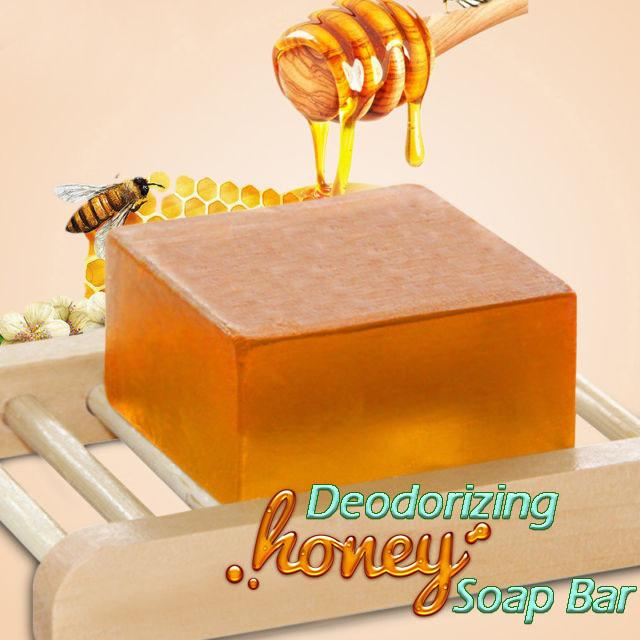 Deodorizing Honey Soap Bar