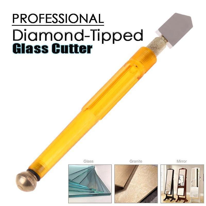 Diamond-Tipped Glass Cutter
